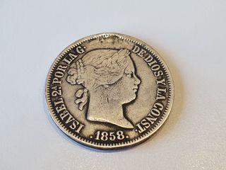 20 reales 1858