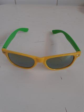 gafas amarillo y verde Desperado