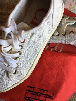Zapatillas carolina Herrera certificado caja funda
