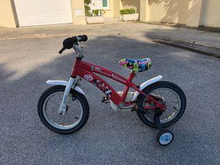 Bicicleta McQueen infantil