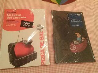 2 libros para niños a partir de 8 años