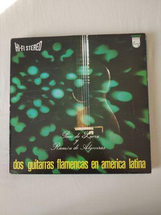 Vinilo. Dos guitarras flamencas