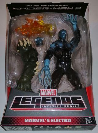 Marvel Legends figura Electro