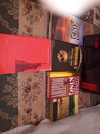 lote de libros de Stephen King