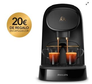 CAFETERA PHILIPS LOR PIANO NOIR LM8012