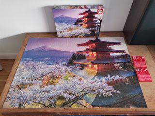 Puzzle 2000 piezas japon