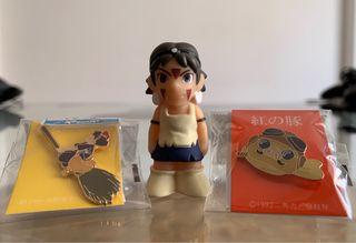 Ghibli Mononoke, Porco Rosso, Kiki