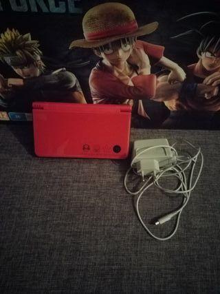Nintendo DS Xl Mario con muchos juegos