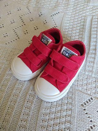 Tenis Converse Rojos Bebe Nº 21