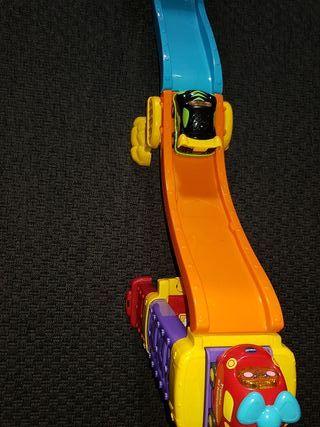 coches pista bebé niño