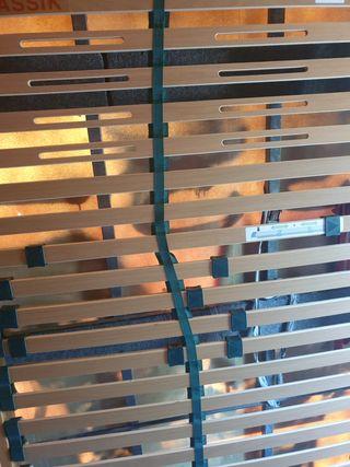 somier de madera pata rosca