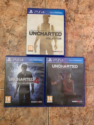 Saga Completa Uncharted PS4