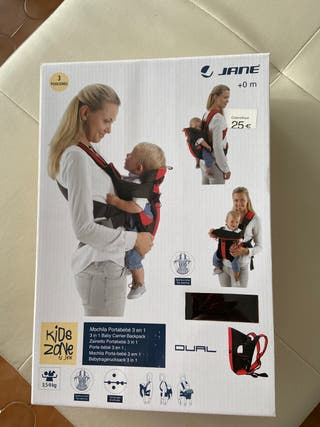 Mochila Portable para bebe 3 en 1