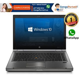 Portátil Hp EliteBook 8470w, i5, 8Gb Ram/240Gb SSD