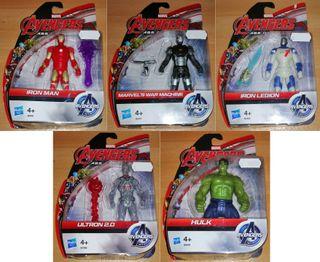 Marvel Avengers cinco figuras 10 cm