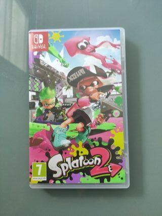 Splatoon 2. Juego de Nintendo switch