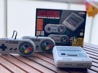 """Súper Nintendo mini con """" muchísimos extras"""""""