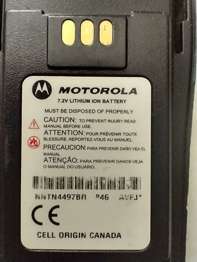 6 x Walkie Talkies Motorola CP200 CP040