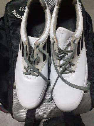 zapato de golf casi nuevos