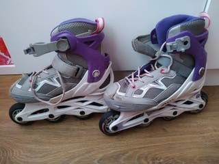 Patines Oxelo extensibles, talla 32-35