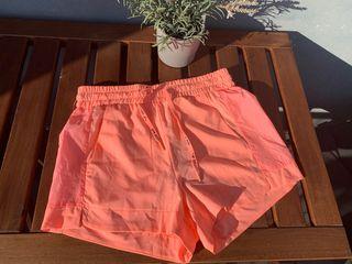 Pantalón de deporte naranja, gym, runner,