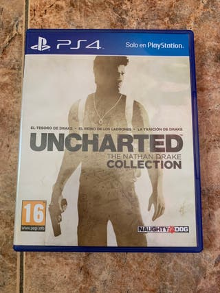 Uncharted: The Nathan Drake Collection, PS4