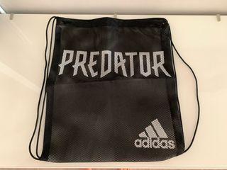 Mochila rejilla Adidas Predator negra