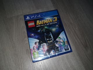 LEGO BATMAN 3 precintado PS4