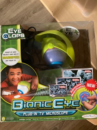 Juego aumento bionic eye experimento