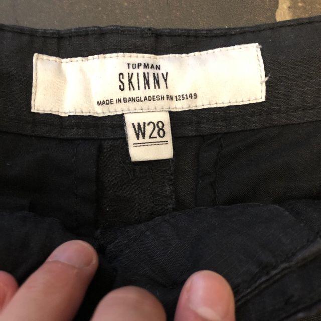 Skinny fit Topman shorts