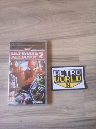 ultimate alliance 2 psp nuevo