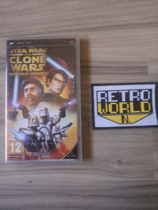 star wars clone wars psp nuevo