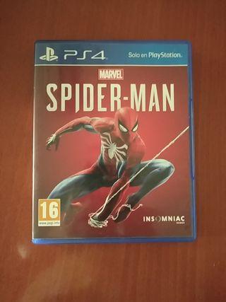 Juego Marvel Spider-man para PS4