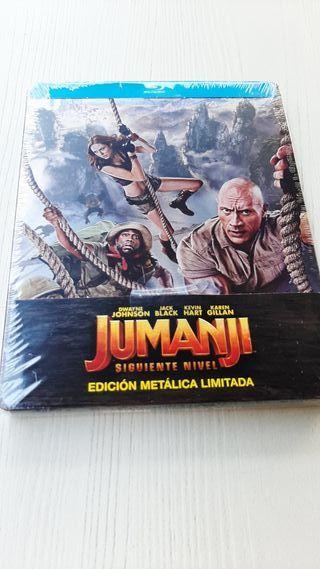 Jumanji, siguiente nivel steelbook blu-ray