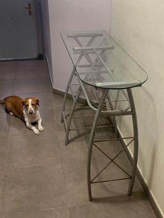 Mesa auxiliar de cocina