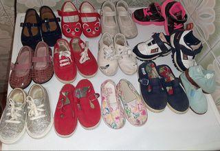 lote calzado niña o niño