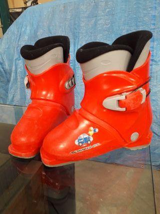 botas de esquí niños
