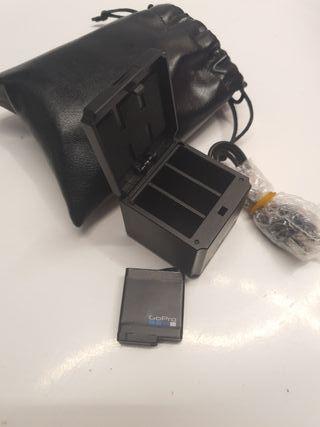 bateria y cargador gopro hero 5, 6, 7 y 8