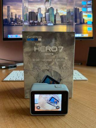 Cámara de acción GoPro Hero 7 white