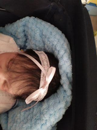 Felpa bebé diadema