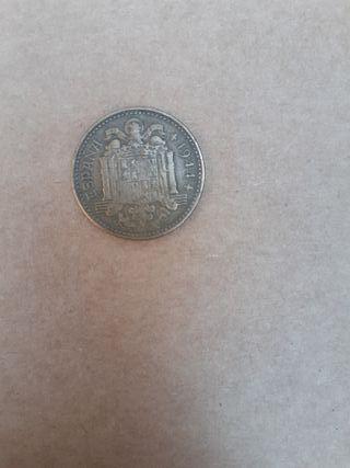 moneda de una peseta de 1944