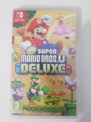 Super Mario Deluxe Nintendo Switch