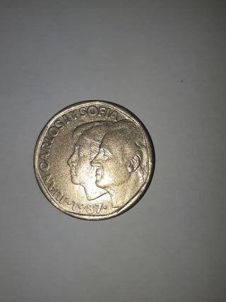 Moneda 500 pesetas del 1987