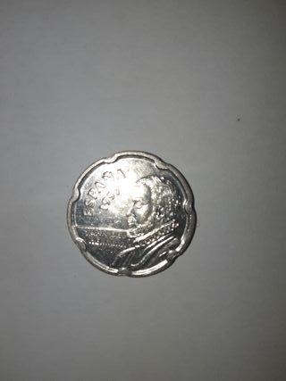Monedas de 50 pesetas de Juan de Herrera.