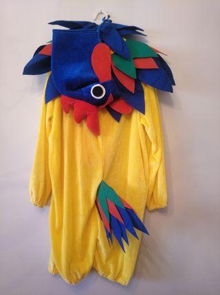 Disfraz gallo.