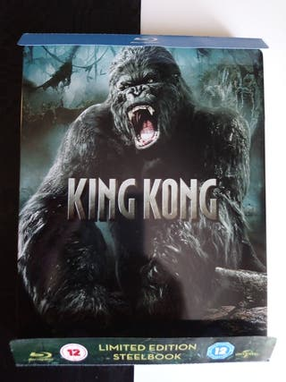 steelbook king kong blu ray