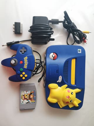 Nintendo 64 Ed. Limitada Pikachu