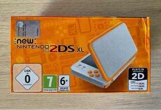 New Nintendo 2DS XL NARANJA
