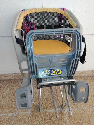 silla de niño para bicicleta