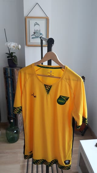 Auténtica camiseta de Romai de Jamaica, talla XL